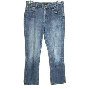 Ralph Lauren 10 High Rise Medium Wash Blue Jeans